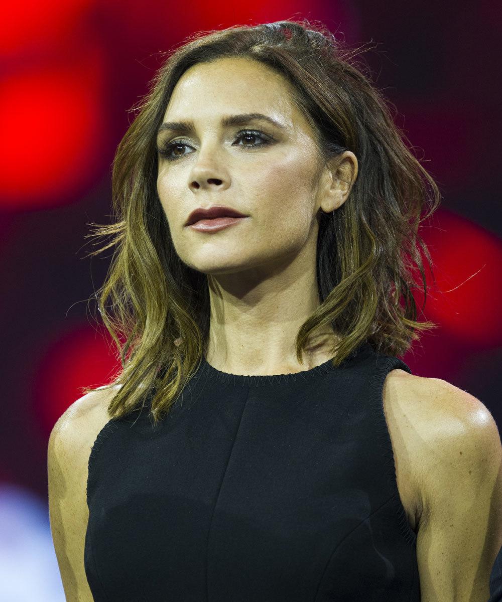 Victoria Beckham sabe lo que es tener problemas en la piel ya que...