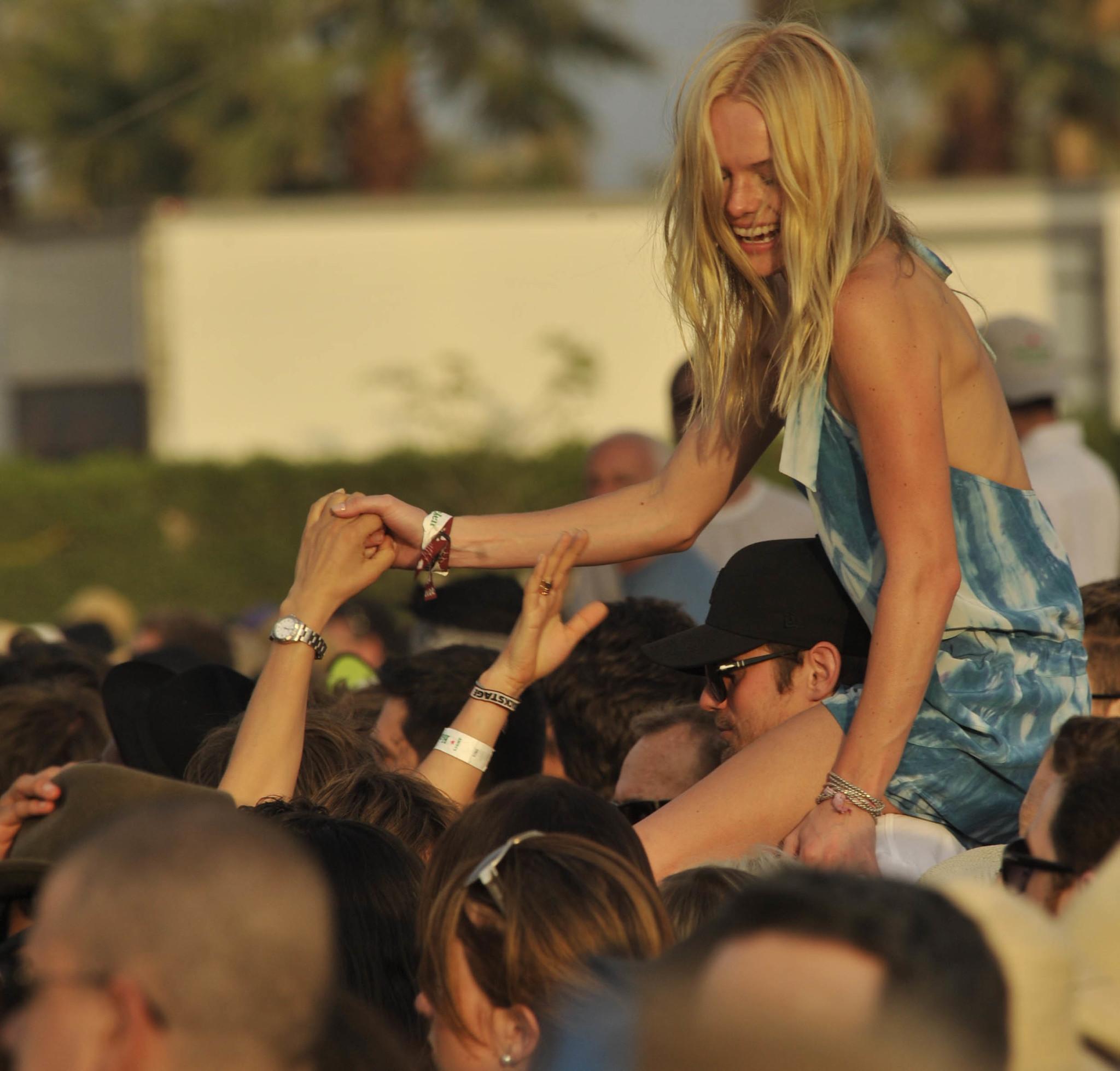 Kate Bosworth en el festival de Coachella de 2010.