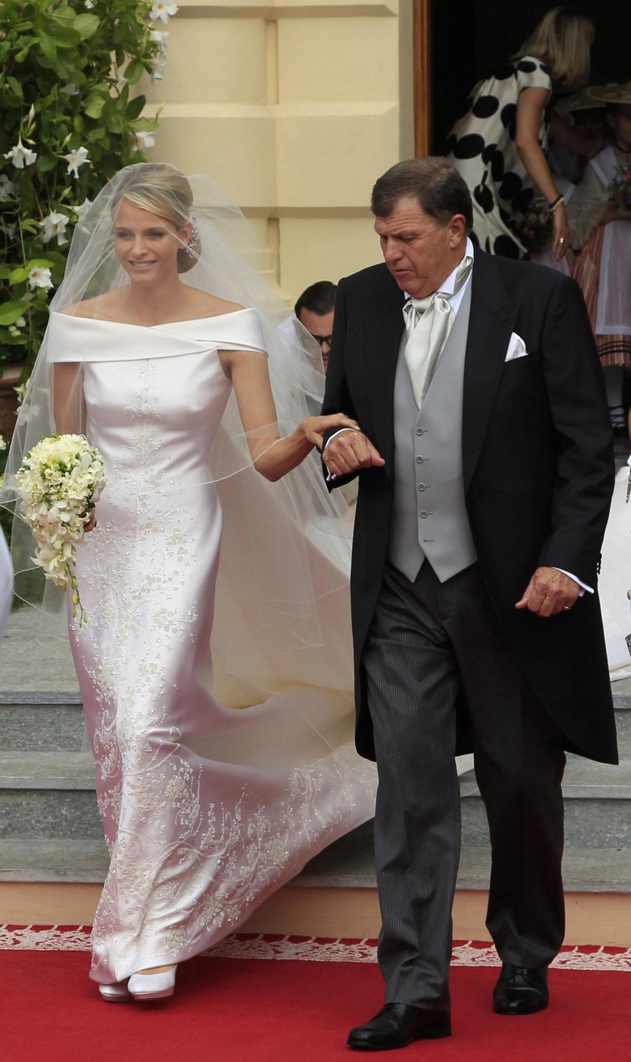 La actual esposa del príncipe Alberto de Mónaco se decantó por un...