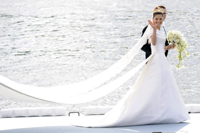 victoria de suecia | los vestidos de novia más espectaculares