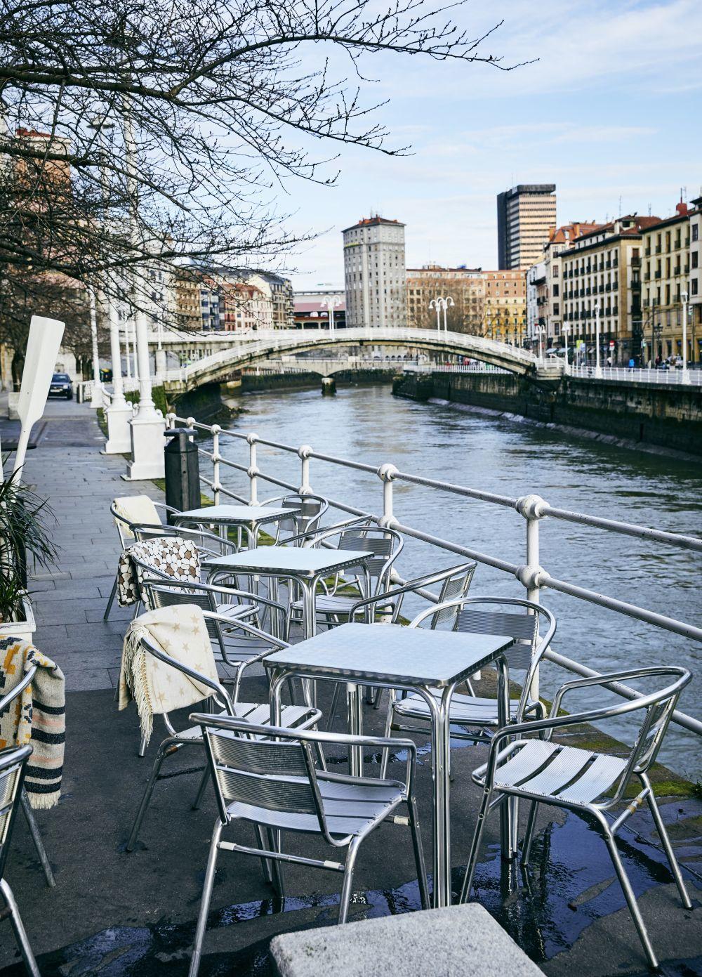 El Muelle Marzana en Bilbao.