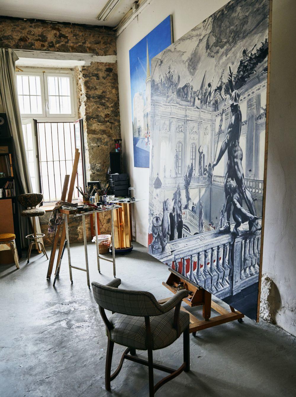 Estudio de Ignacio Goitia, con vistas a la Ría, situado en una...