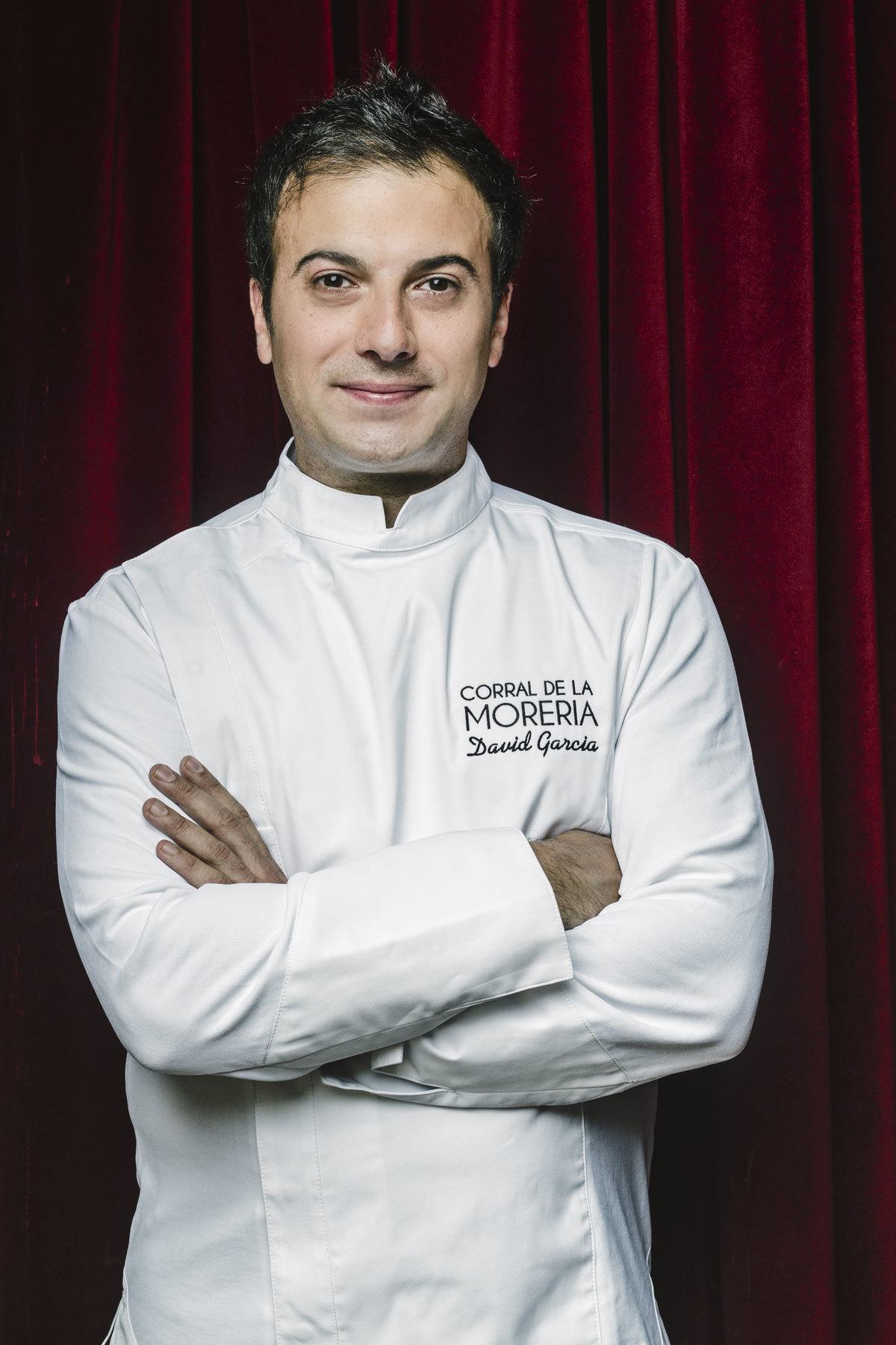 David García, chef de Corral de la Morería.