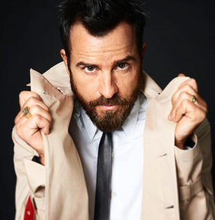 El actor, Justin Theroux