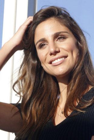 La periodista deportiva Lucía Villalón.