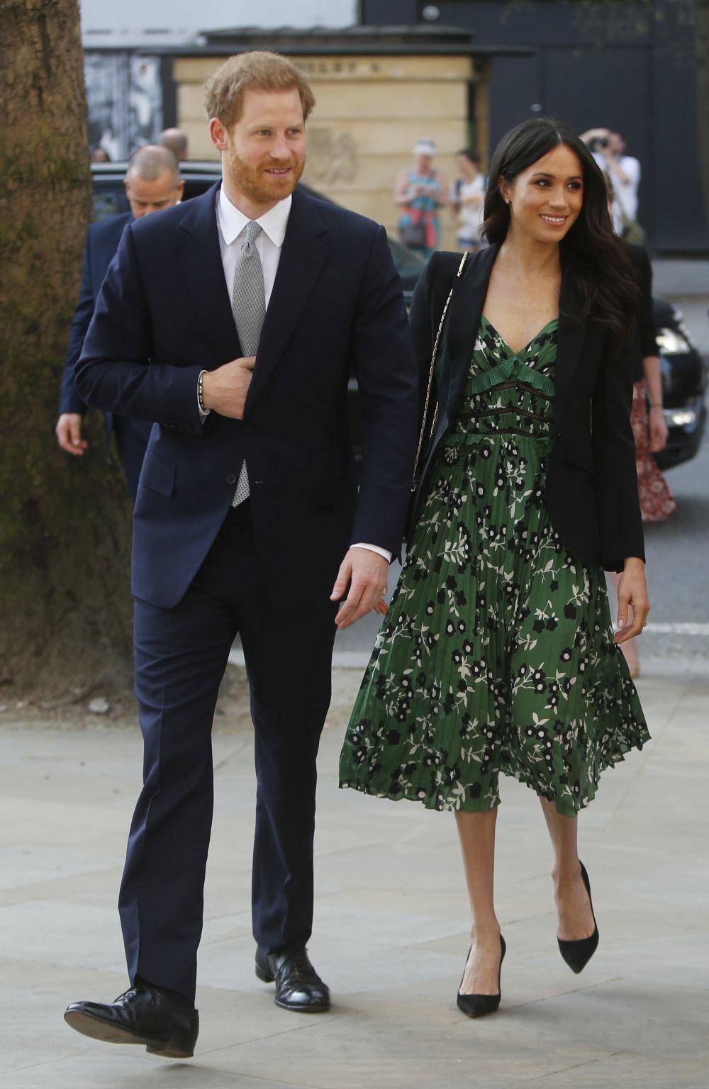 El príncipe Harry y Meghan Markl en su última aparición pública.