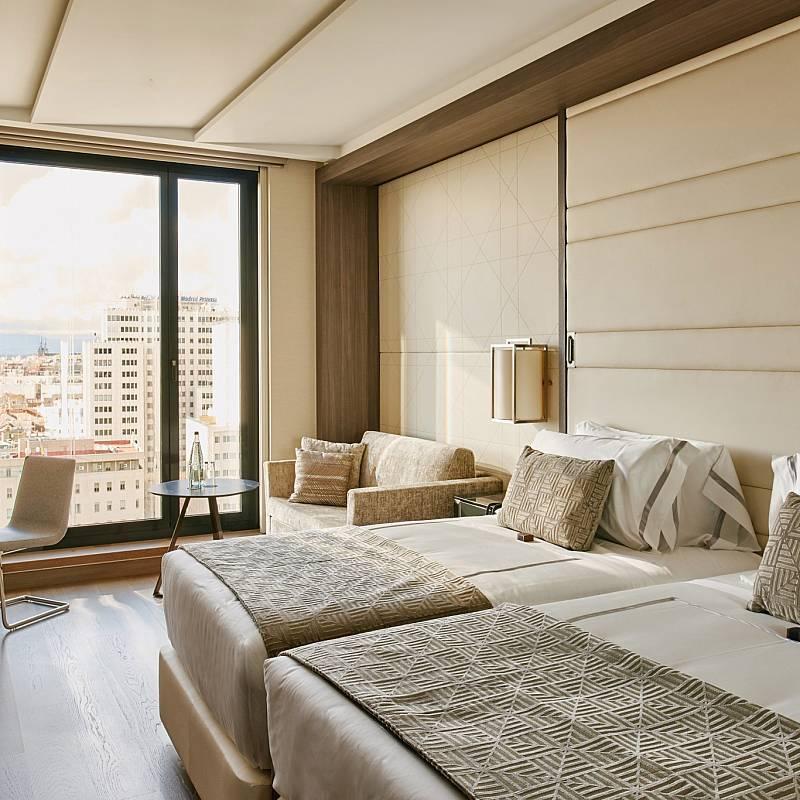 Una de las habitaciones del Hotel VP Plaza de España Design