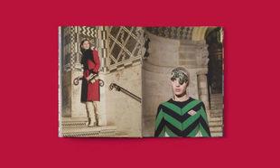 """Gucci lanza """"Disturbia"""" un libro de edición limitada con fotografías..."""