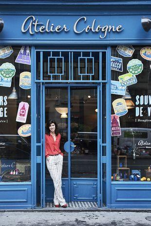 Una de las tiendas Atelier Cologne en París