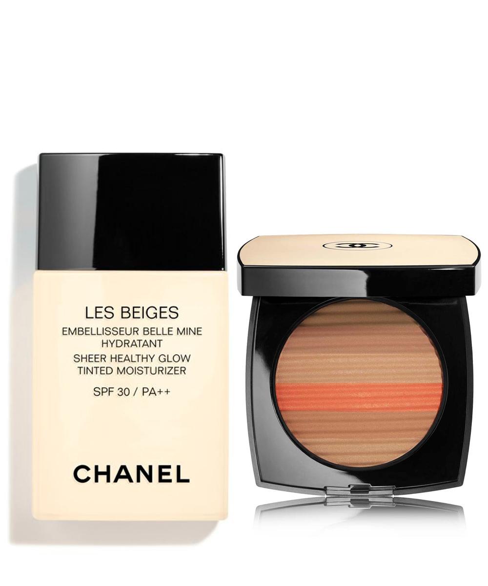 Base de maquillaje hidratante Les Beiges Belle Mine Embellisseur SPF...