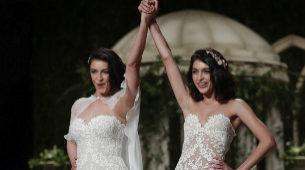 Por primera vez, las modelos Blanca Romero y Lucía Rivera, madre e...