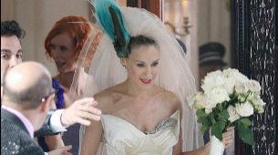 Carrie Bradshaw, personaje al que da vida Sarah Jessica Parker en Sexo...