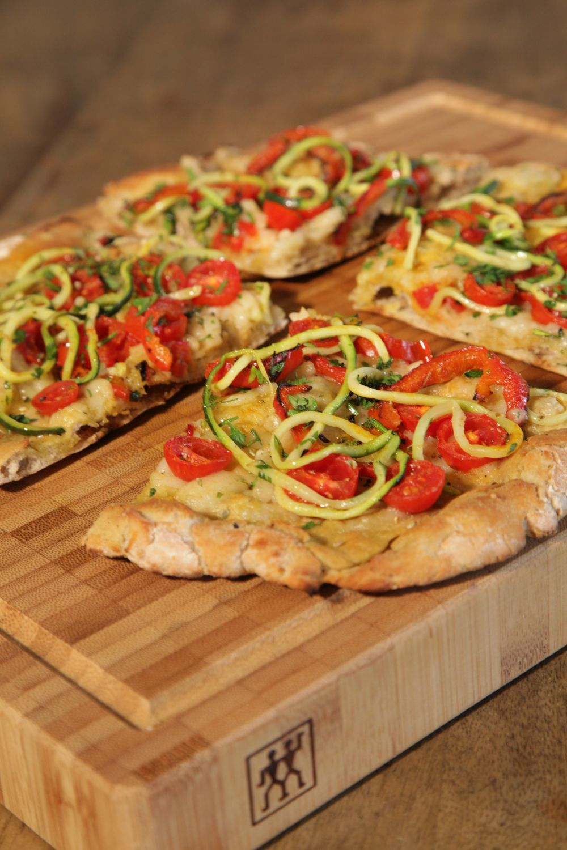 La courgette (<em>Veggie pizzas. Saludables y ligeras</em>, de Jordi...