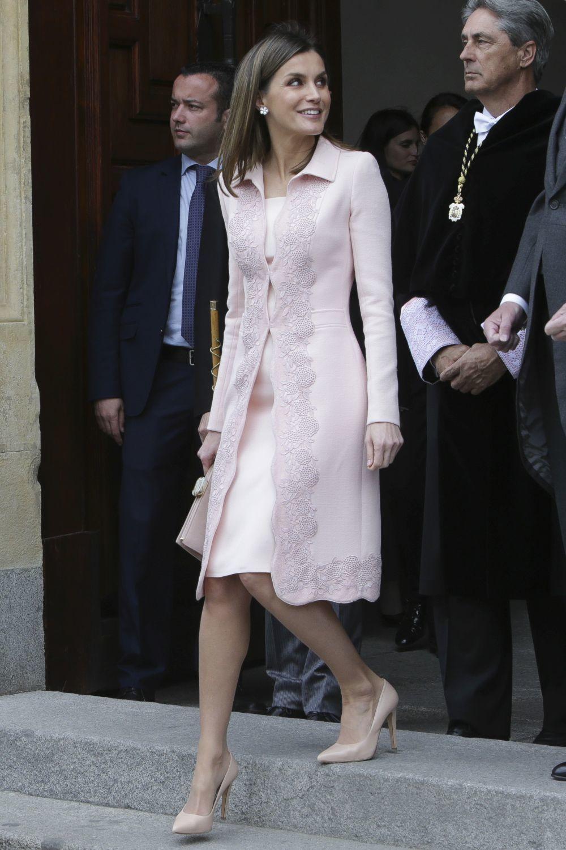Abrigo rosa leticia