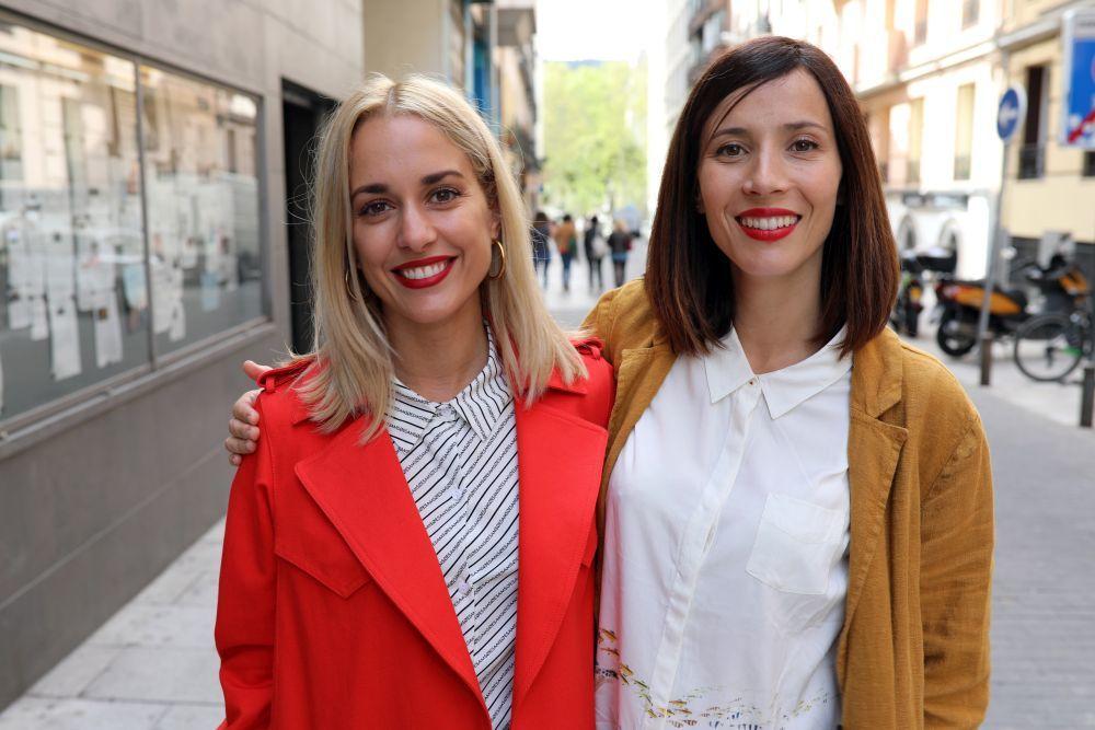 """Silvia Alonso y Bárbara Goenaga en el preestreno de """"Hacerse mayor y..."""