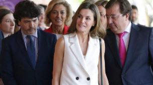 Letizia Ortiz, abril 2018.