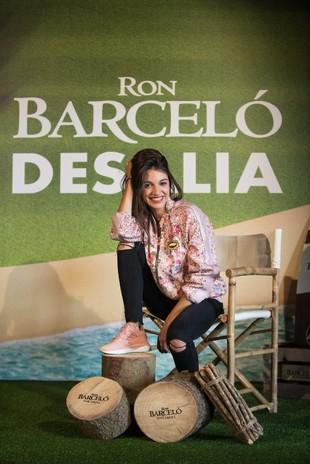 Ana Guerra en Desalia Ron Barceló 2018.