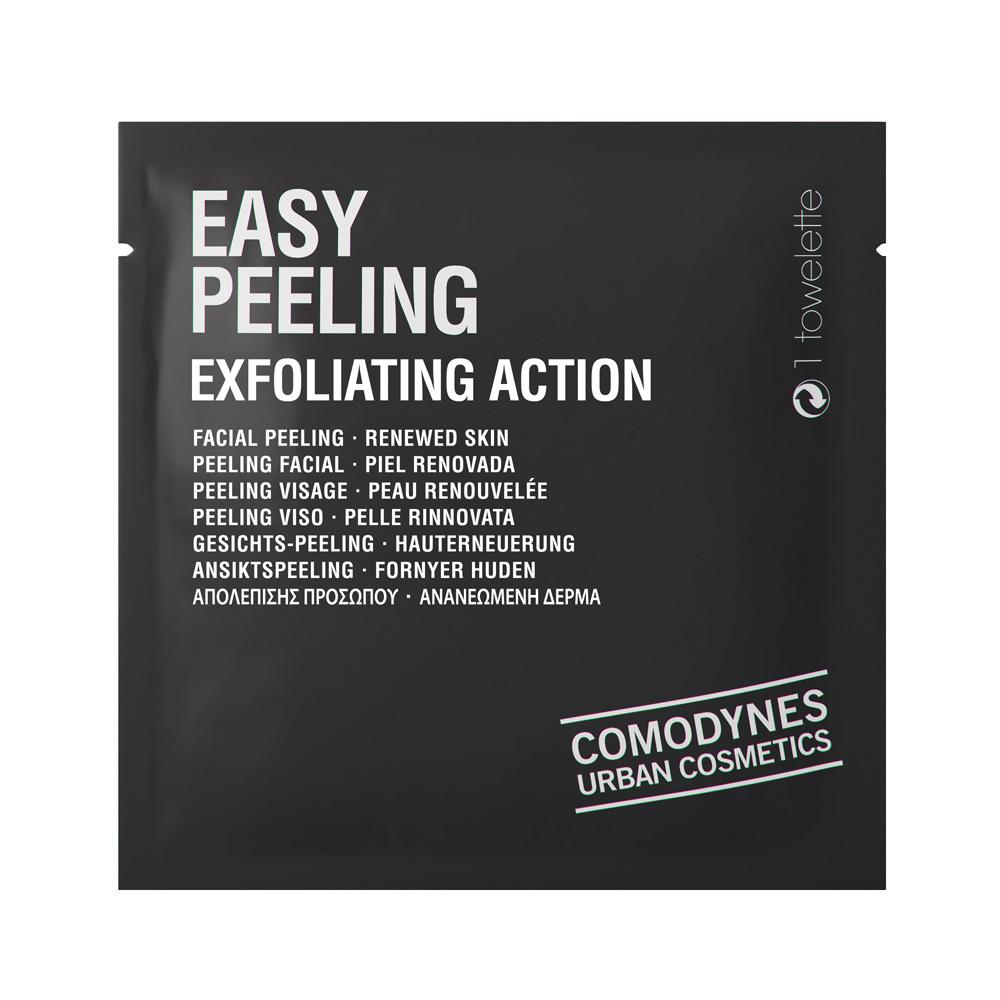 Toallitas exfoliantes Easy Peeling de Comodynes (11,30 euros) con agua...