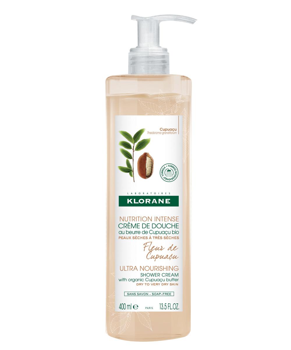 Crema de ducha Nutrición Intensiva Flor de Cupuaçu de Klorane.