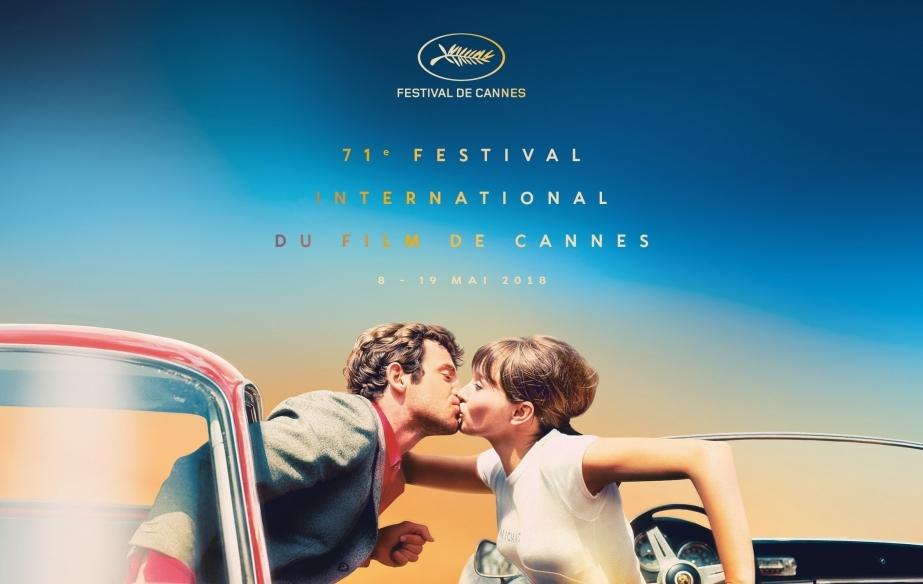 Póster oficial de la 71 edición del Festival de Cannes.