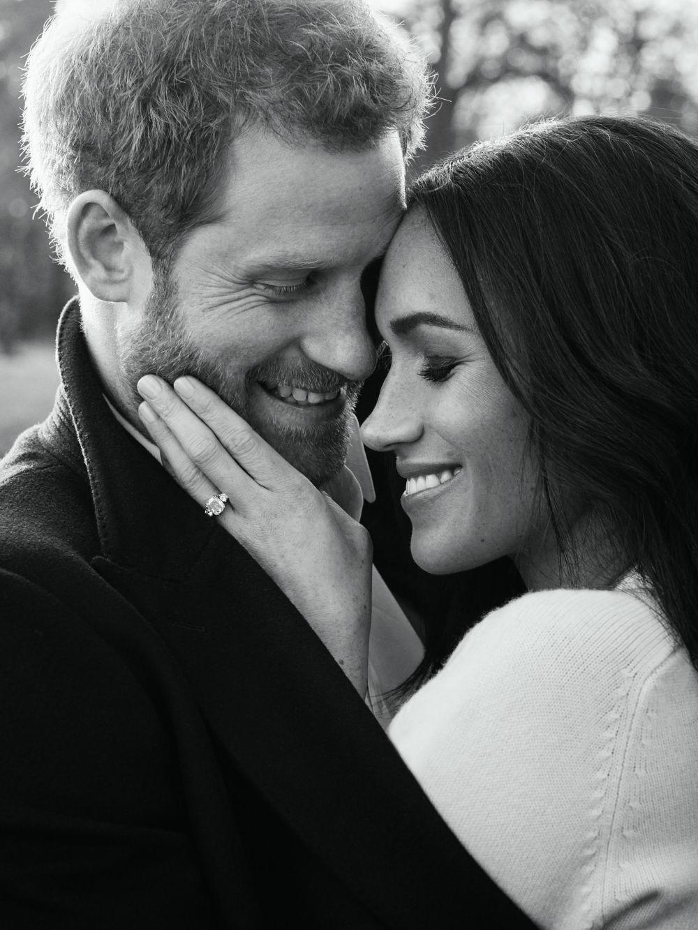 La fotografía oficial de compromiso del príncipe Harry y Meghan...