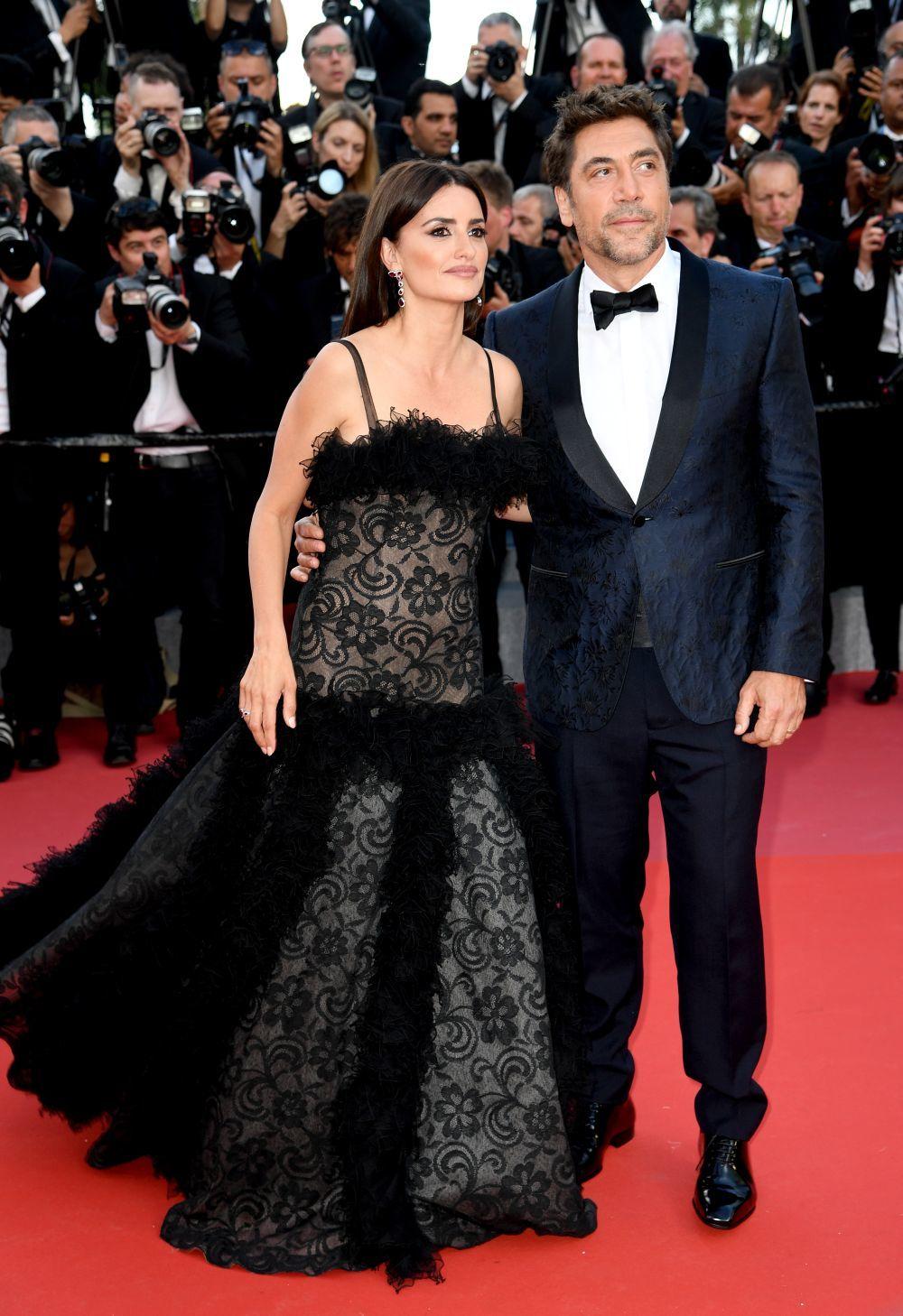 La pareja se convirtió en la gran protagonista de la noche. Ambos...