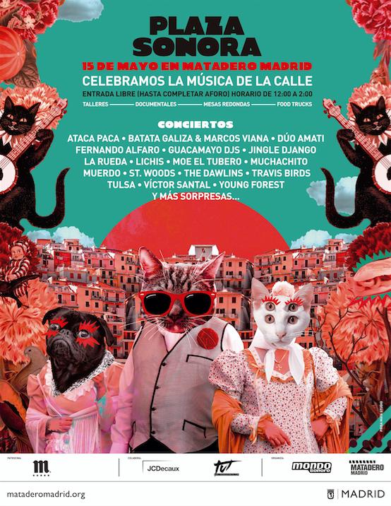 Será el próximo 15 de mayo, cuando Matadero acoja Plaza Sonora, una...