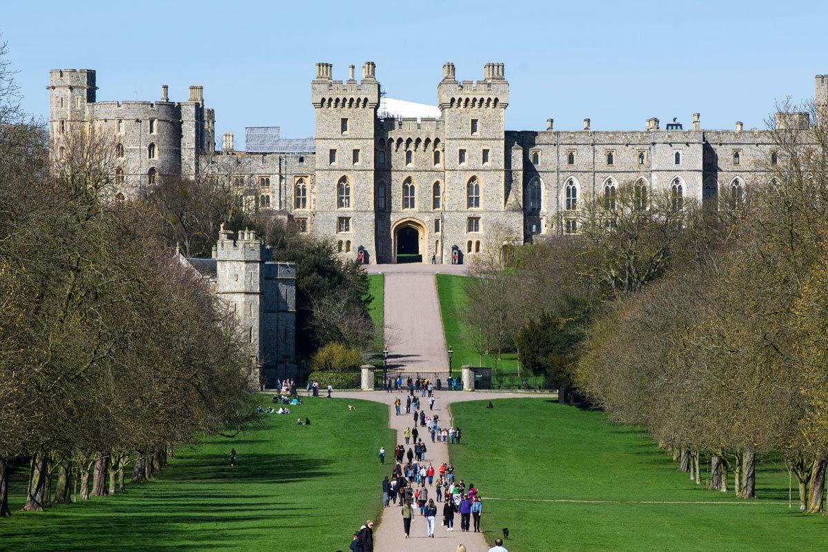 Castillo de Windsor, escenario de la boda real de Meghan Markle y...