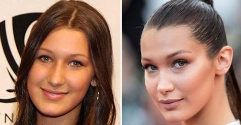 ¡Descubre cómo han cambiado su imagen las celebrities con sus...
