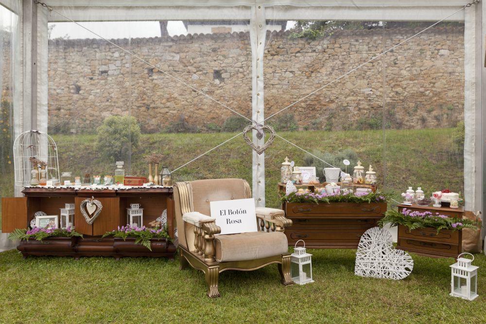 El espacio de la Wedding Planner El Botón Rosa