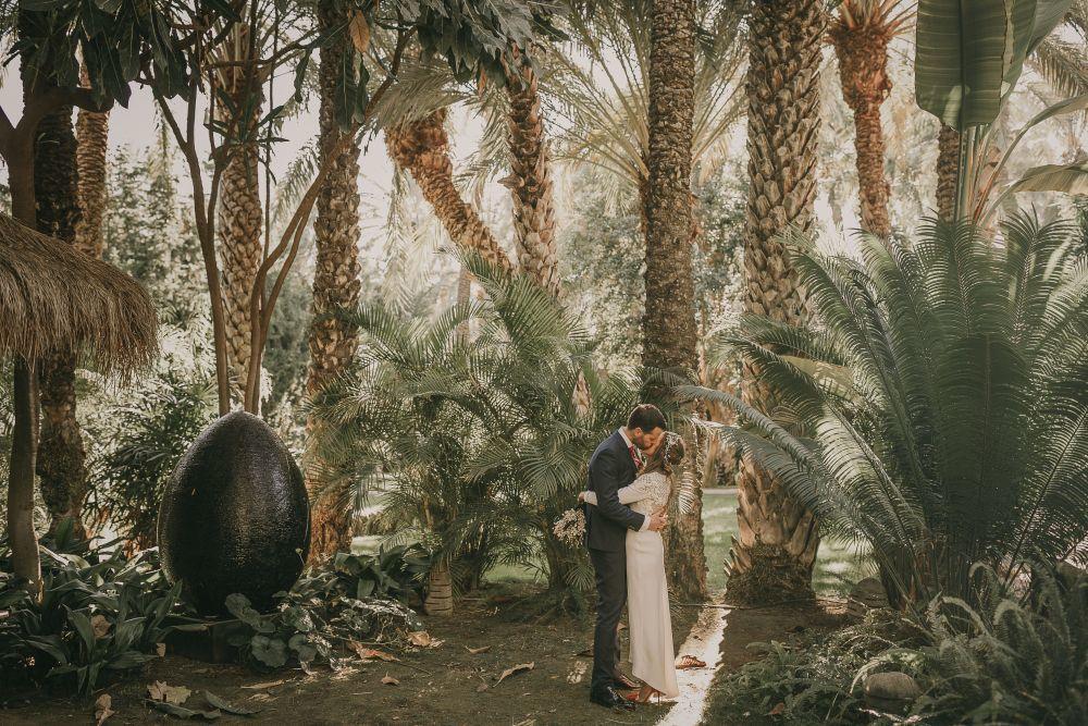 Regina y Marcel se casaron en una boda con toques muy british en medio...