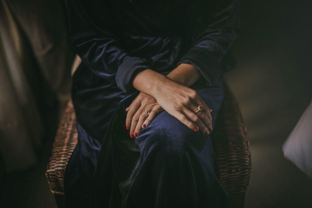 La joya con más significado de la novia era un anillo de su madre, un...
