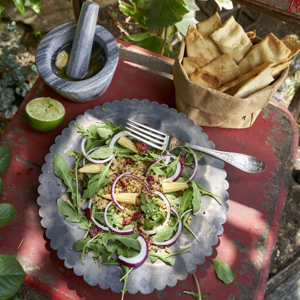 Ensalada agridulce de quinoa