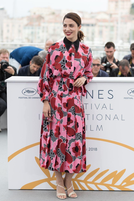 Bárbara Lennie con vestido de Gucci en el Festival de Cannes.