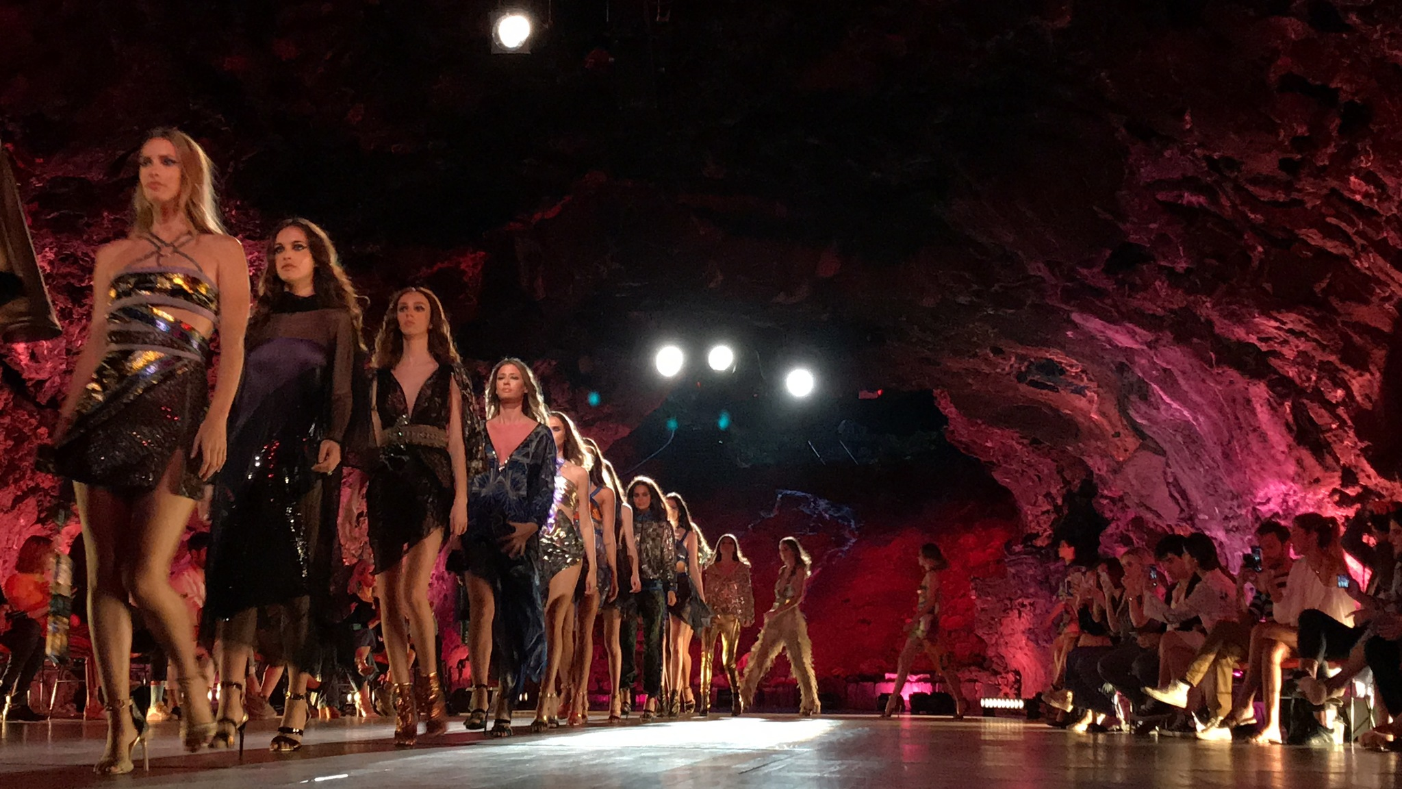 Desfile de Custo Barcelona en Lanzarote Fashion Weekend.