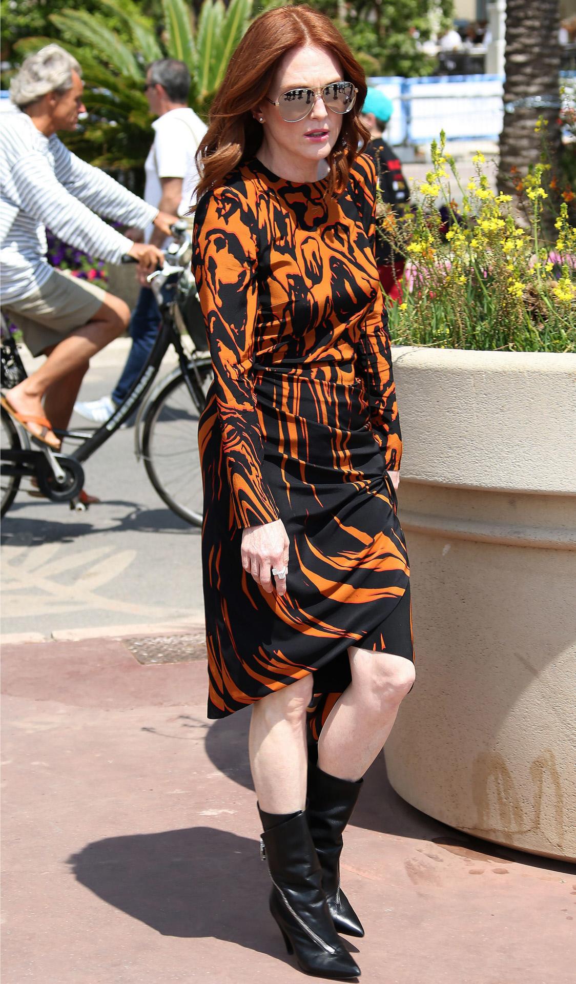 Julianne Moore, el pasado fin de semana en el Festival de Cannes.