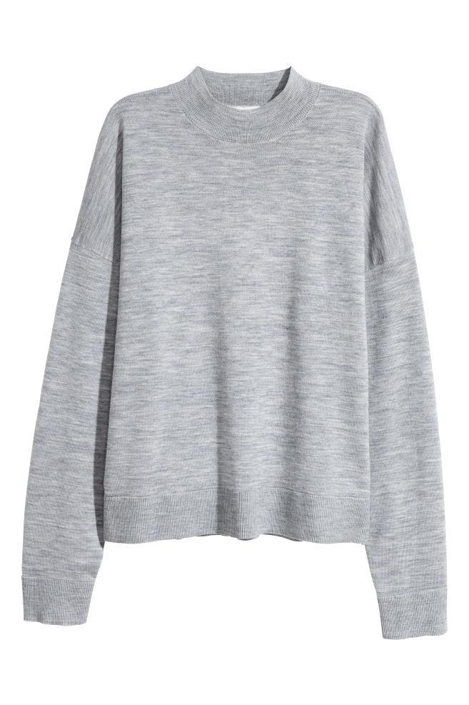 Jersey en lana de merino de H&M por 29,99 euros.