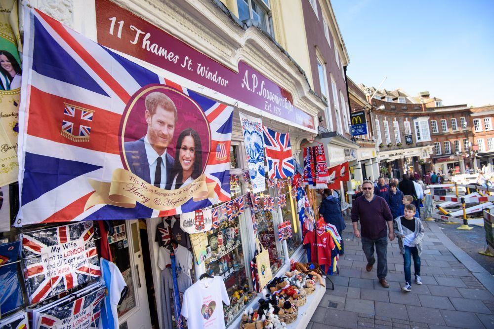 Londres vive con intensidad la boda del príncipe Harry y Meghan...