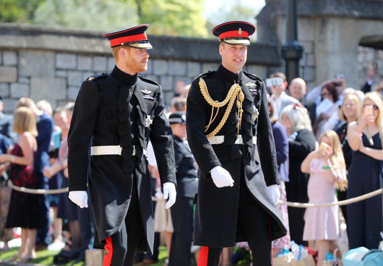 El novio y su padrino han llegado juntos al castillo de Windsor.