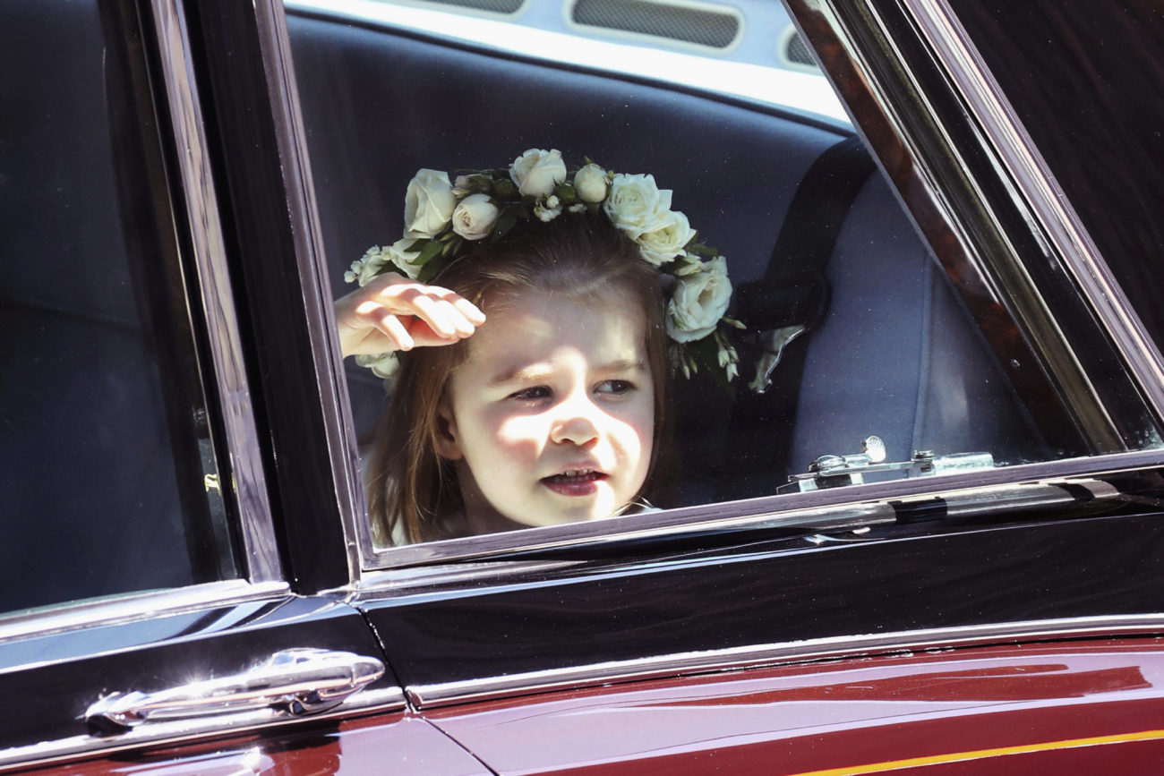 La hija pequeña del príncipe Guillermo y Kate Middleton.