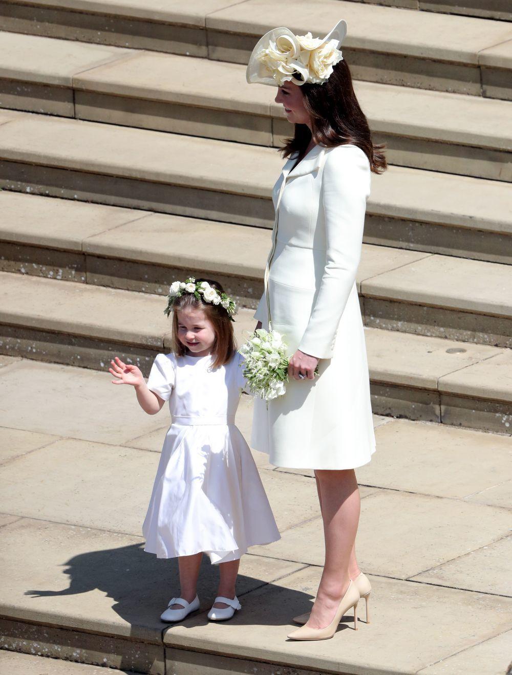 a4b0275fe El look de Kate Middleton en la boda de Meghan Markle y el Príncipe ...