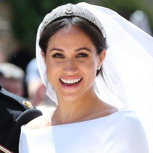 Meghan Markle apuesta por el maquillaje natural el día de su boda.
