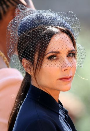 Uno de nuestros looks de belleza favoritos de la boda de Meghan Markle...