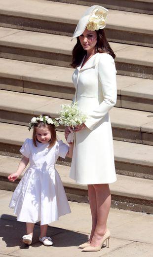 Kate Middleton ha reaparecido con una silueta increíble a un mes de...