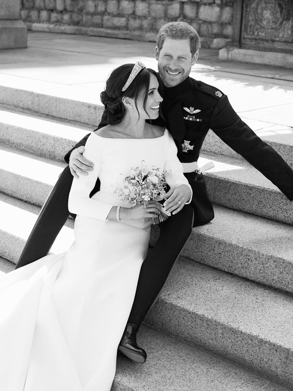 Las fotografías oficiales de la boda de Meghan Makle y el príncipe...