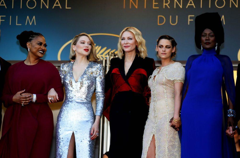 Las integrantes del jurado de Cannes 2018.