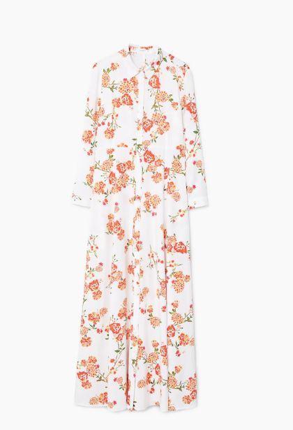 Vestido de Mango por 49,99 euros.
