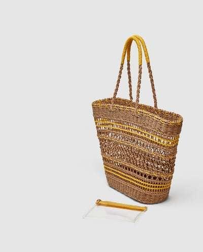 Bolso de Zara por 29,95 euros.