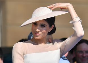 Meghan Markle en la fiesta de cumpleaños del príncipe Carlos.