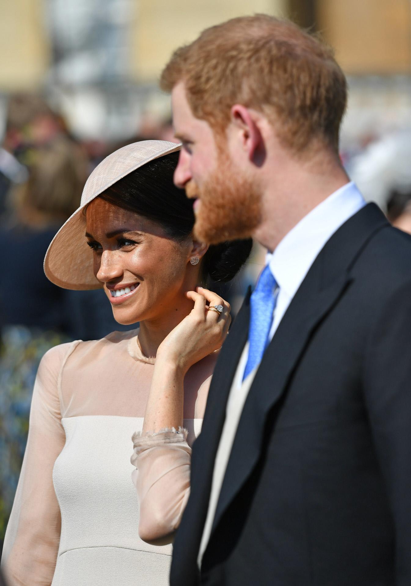 Meghan Markle y el príncipe Harry reaparecen después de la boda.